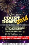 Countdown 2018 Supper