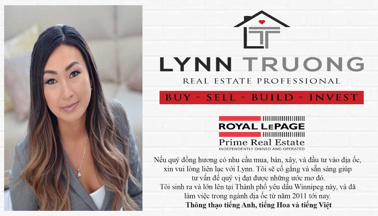 LYNN TRUONG REAL ESTATE PROFESSIONAL
